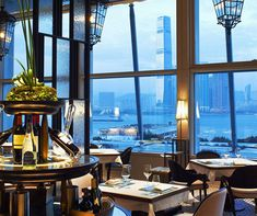 A Hong Kong eatery with a window onto the world.