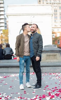 LGBTQ Engagement + Wedding Photographer Debbie-jean Lemonte of DAG IMAGES NYC