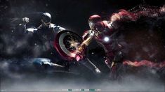 The avengers captain america vs iron man wallpaper Ultron Wallpaper, Avengers Wallpaper, 1080p Wallpaper, Iphone Wallpaper, 4k Wallpapers For Pc, Movie Wallpapers, Hd Desktop, Desktop Backgrounds, Wallpapers Android