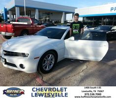 Happy Anniversary to tim on your #Chevrolet #Camaro from Craig Martin at Huffines Chevrolet Lewisville!  https://deliverymaxx.com/DealerReviews.aspx?DealerCode=UBM1  #Anniversary #HuffinesChevroletLewisville