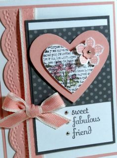 Me, My Stamps and I: Friend Card