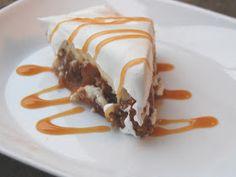 Cassie Craves: Caramel Apple Cheesecake Pie