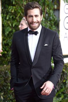 And his smile will make you lose all ability to breathe. | Jake Gyllenhaal's Details Cover Will Make You Weep