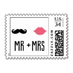 Kissing Booth - Mr   Mrs Postage Stamps http://www.zazzle.com/kissing_booth_mr_mrs_postage_stamps-172818459303359643?denomination=34&rf=238194283948490074&tc=pfz #envelopments #wedding #love #married #lips #moustache #mr #mrs #marriage #handdrawn #postagestamps #zazzle