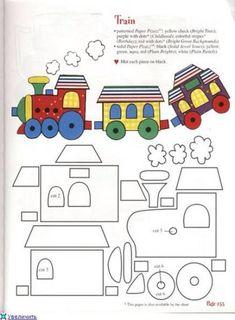 50 Ideas For Baby Boy Crafts Quiet Books Applique Templates, Applique Patterns, Applique Quilts, Applique Designs, Felt Templates, Card Templates, Quiet Book Templates, Quiet Book Patterns, Felt Patterns