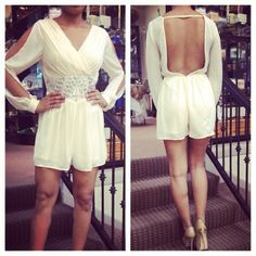 Beautiful romper!