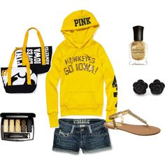 Hawkeyes, created by justine1541 on Polyvore