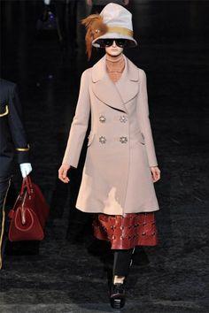 Love the coat.  Louis Vuitton Fall 2012.