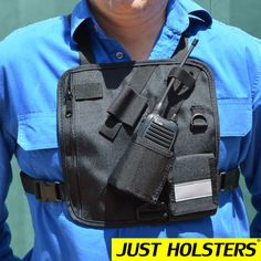 2 way radio holster - Google Search