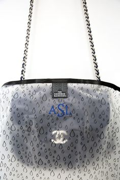 6124abeaabb67 Make a splash for April Showers without getting your designer handbag wet.  Get your monogrammed