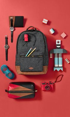 Happy (Haul)idays! Our Estate backpack has room for all your nifty gifties.