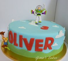Top That!: Toy Story Birthday Cake {Buzz and Woody}