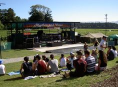 Vines Stage at the first ever Rhythm and Vines