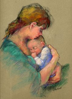 Junko Ono Rothwell, Mother & Child