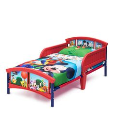 Look at this Mickey Mouse Clubhouse Toddler Bed on #zulily today!
