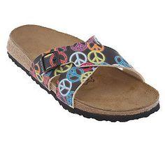 ab05940a1e9 Birki s by Birkenstock Santosa Peace Sign Sandals