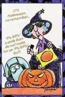 Maxine - happy Halloween