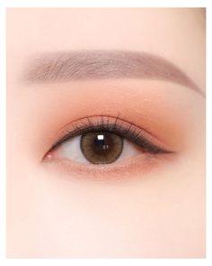 Makeup Korean Style, Korean Natural Makeup, Korean Eye Makeup, Korea Makeup, Eye Makeup Art, Asian Makeup, Cute Makeup, Eyeshadow Makeup, Makeup Looks