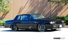 """You might think of the Buick Grand National as being fast in a straight line, but not the corners. But this GN breaks the mold, because as the Speedtech Performance G-body development mule, it has every piece of handling magic that Speedtech could throw at it, including a set of 18"""" Forgeline VR3P wheels finished in Gloss Black w/Diamond Cut centers. See more: http://www.forgeline.com/customer_gallery_view.php?cvk=1118  #Forgeline #VR3P #notjustanotherprettywheel #madeinUSA #Buick…"""