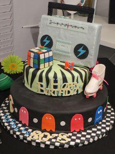 An 80's cake