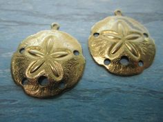 Sand Dollar Large Medallions Brass Charms on Etsy by Charms4Design (Craft Supplies & Tools, Jewelry & Beading Supplies, Charms, Sand Dollar, Large Medallions, sand dollar supplies, sanddollar charms, nautical charms, earring supplies, bracelet supplies, necklace supplies, jewelry supplies, jewellery supplies, collage supplies, craft supplies, Charms4Design)