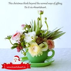 This Christmas think beyond the normal ways of gifting. Do it via #heart2heart.