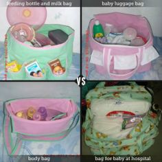 my granddaughter's diaper bags...