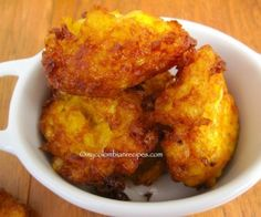 Colunbian Corn Fritters