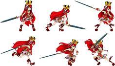 【作品】アルカディアスの戦姫、【武器】片手剣、【キャラ】プリュム
