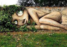 street art (Eauze, France) by Vinnie