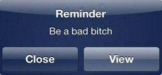 No reminder needed lol