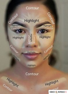 Modelowanie twarzy - jak się malować - Kobieceinspiracje.pl