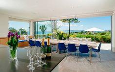 Ednovean House, Perranuthnoe | Cornwall : Modern dining room by Perfect Stays