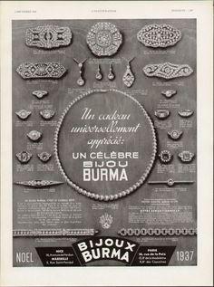 1937 diamond jewelry jewelry-research jewellery Jewellery Advertising, Jewelry Ads, Cartier Jewelry, Jewelry Stand, Old Jewelry, Art Deco Jewelry, Diamond Jewelry, Antique Jewelry, Vintage Jewelry