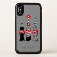 Coca-Cola | Sipping On Coke OtterBox Symmetry iPhone X Case - diy individual customized design unique ideas