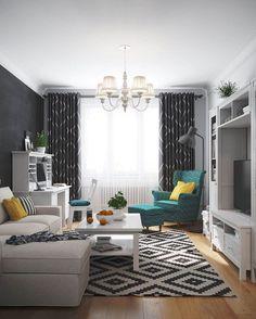 INMYROOM ❤️ интерьеры и мебель в Instagram: «А вы в курсе, что ИКЕА в настоящее время убрала из продажи эту модель кресла? На фото: проект Дениса Красикова»