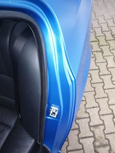 Silesia Wrap Garage BMW e60 Matte Azure Blue Metallic. Oklejanie samochodów Chorzów