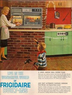 Kitchen Ad From The S All In The Past Pinterest - Kitchen ad