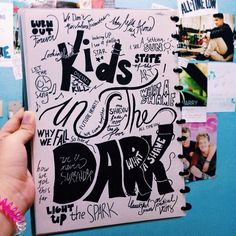 Kids In The Dark art work  Song by All Time Low ❤️
