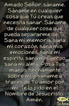 α JESUS NUESTRO SALVADOR Ω: Amado Señor Jesús que viniste a sanar, sana nuestr...