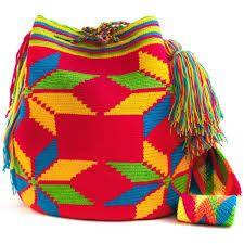 Resultado de imagen de crochet pattern wayuu bag                                                                                                                                                      Más