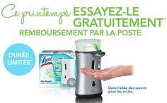 Système de savon à main Lysol® No-Touch Gratuit
