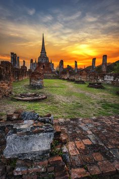 Ayutthaya, Thailand...