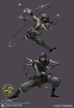 Ninja by *Pechan