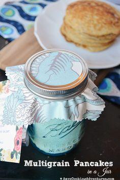 Multigrain Pancakes in a Jar