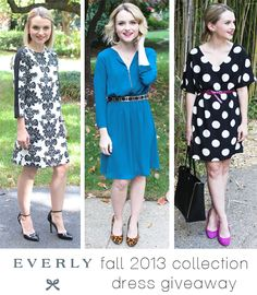 Fall collection dress #giveaway with @Cathy Anderson