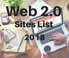 Web 2.0 Sites List 2018 Web 2, Seo Tips