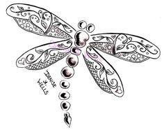 """Képtalálat a következőre: """"zentangle dragonfly"""" Dragonfly Drawing, Dragonfly Tattoo Design, Dragonfly Art, Tattoo Designs, Dragonfly Jewelry, Small Dragonfly Tattoo, Tatoo Art, I Tattoo, Cool Tattoos"""