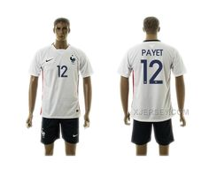 http://www.xjersey.com/201516-france-12-payet-away-jersey.html 2015-16 FRANCE 12 PAYET AWAY JERSEY Only 33.11€ , Free Shipping!
