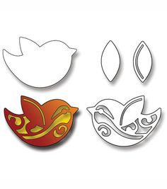 Elizabeth Craft Designs Metal Die Birds